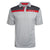 Okoboji Contrast Stripe Mesh Polo - Split Red