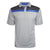 Okoboji Contrast Stripe Mesh Polo - Split Royal