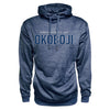 Men's Heather Poly Hood - Navy