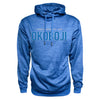 Men's Heather Poly Hood - Royal