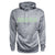 Men's Heather Poly Hood - Silver