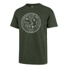 '47 Bottle Green Scrum Crest Tee