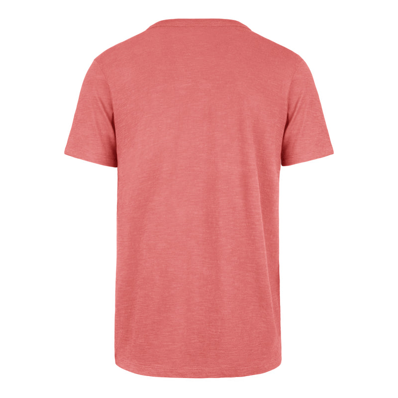 OKOBOJI GRIT SCRUM TEE -  ISLAND RED