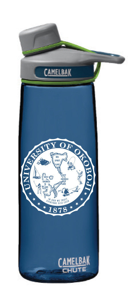 University of Okoboji CamelBak Chute .75L - Bluegrass