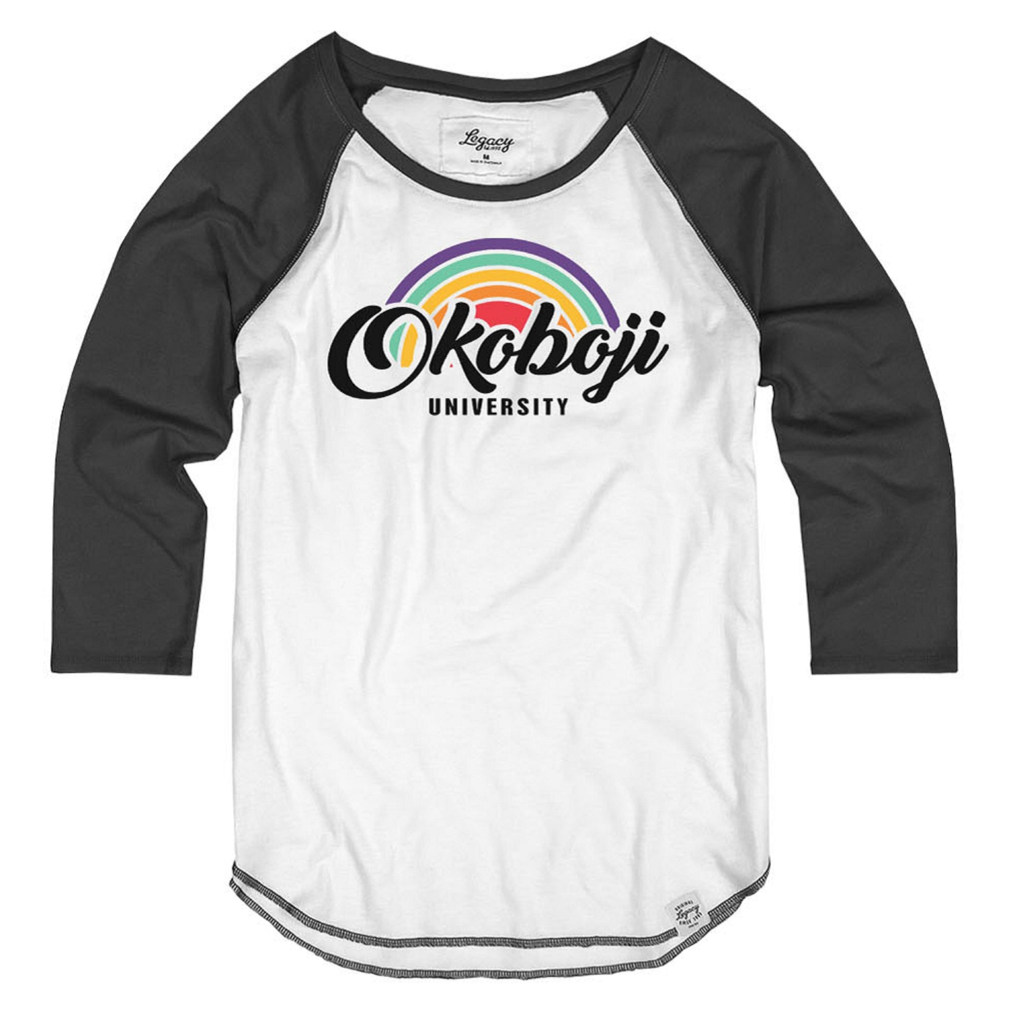 Women's Okoboji Tri-Blend Connection 3⁄4 Sleeve Raglan