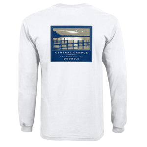 University of Okoboji Central Campus Long Sleeve Tee