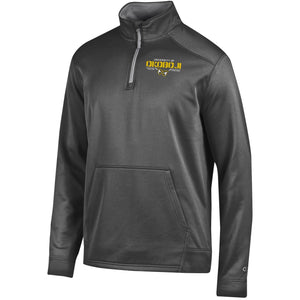 Phantoms Graphite 1/4 Zip Fleece