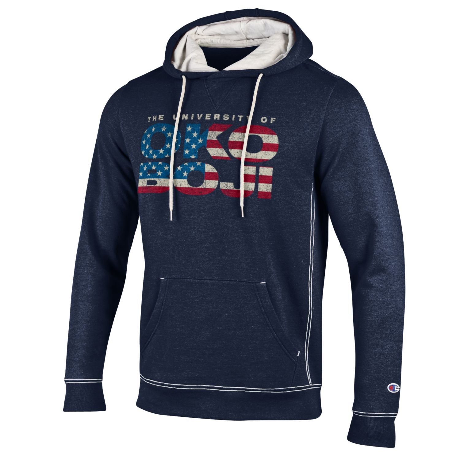University of Okoboji Stars and Stripes Navy Hoody