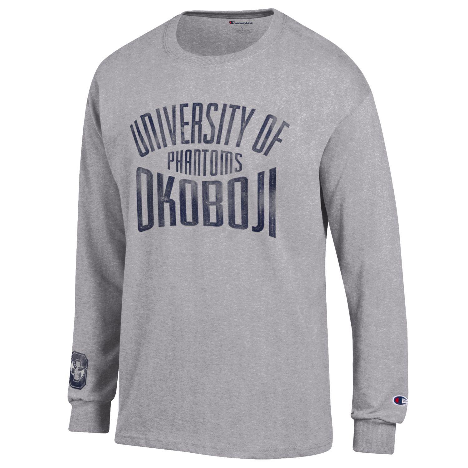 University of Okoboji Phantoms Champion Long Sleeve Tee