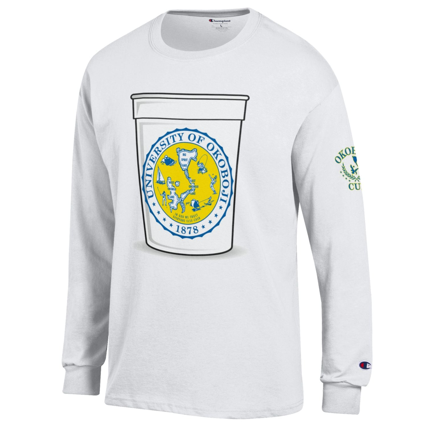 The Okoboji Cup Long-Sleeve Tee