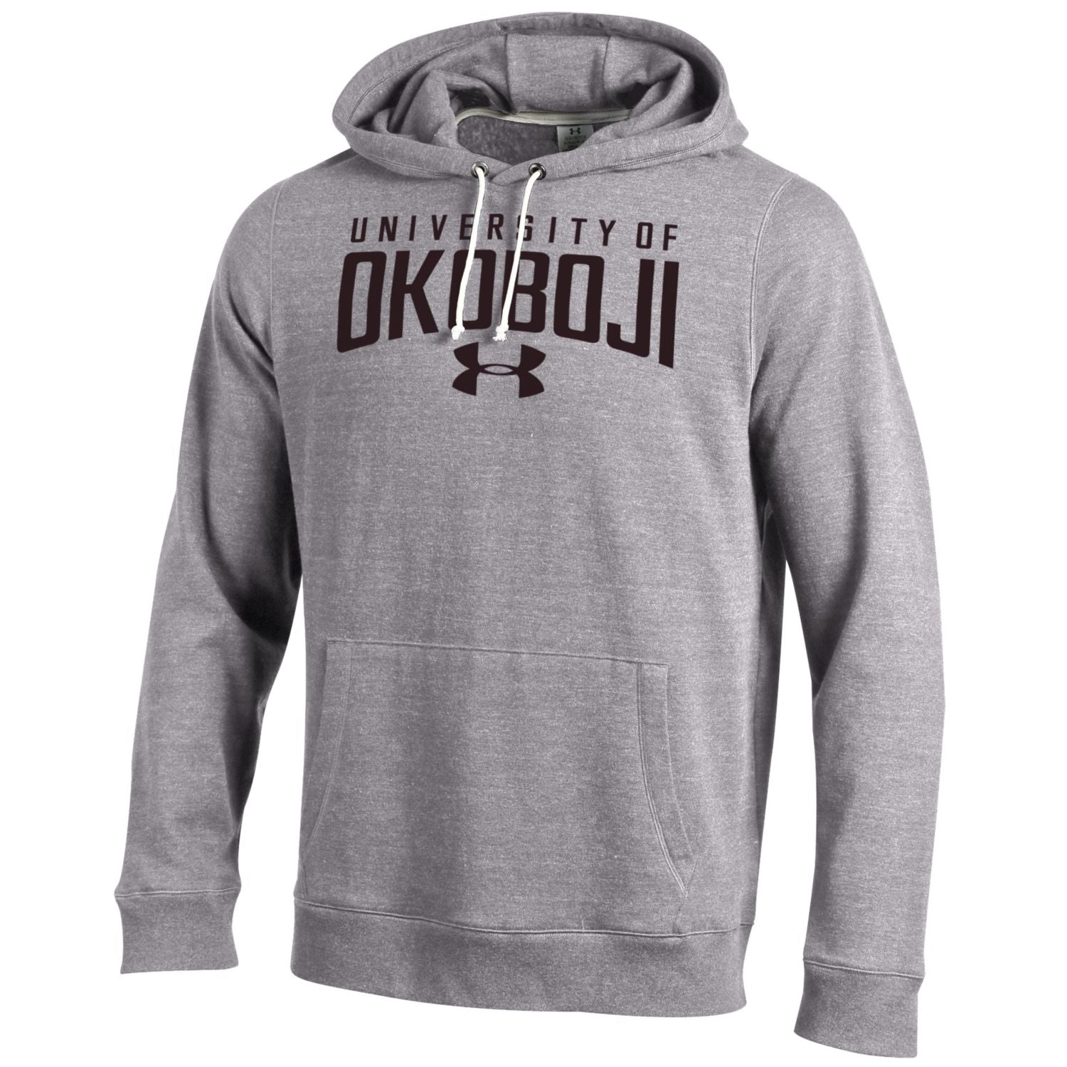 University of Okoboji Heathered Gray Triblend Hoody