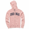 Ladies Okoboji Classic Full Zip - Blush Pink