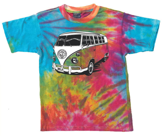 Summer School Bus Tee (Tie-Dye)