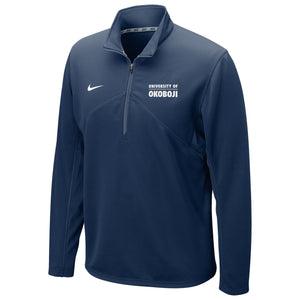 DRI-FIT TRAINING 1/4 ZIP U of O TOP - Navy