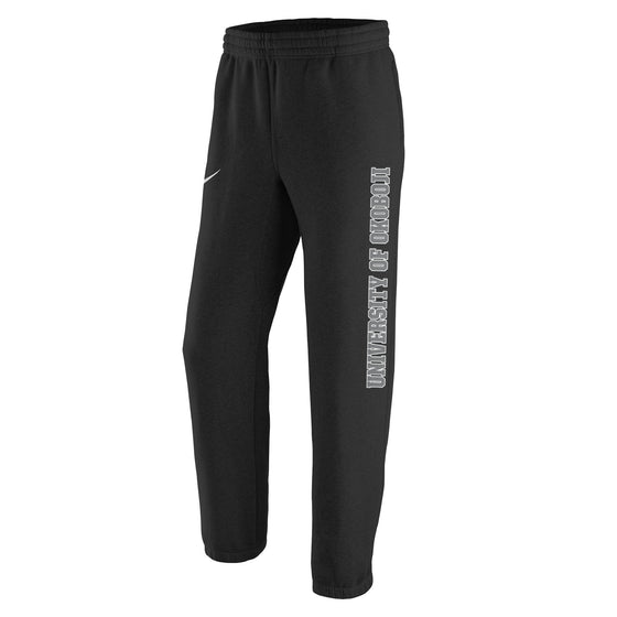 Black Nike U of O Sweatpants
