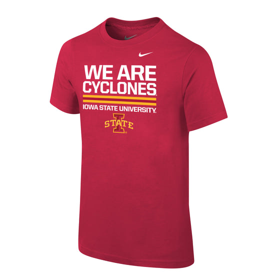 Youth Iowa State Nike Tee