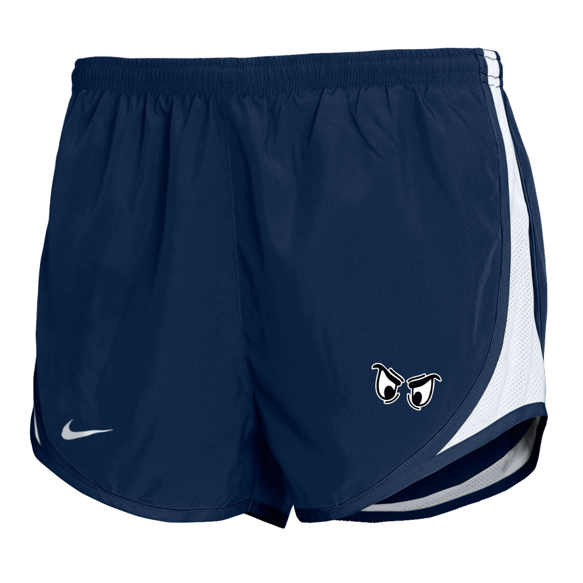 Girl's Nike Embossed Mod Tempo Shorts - Navy