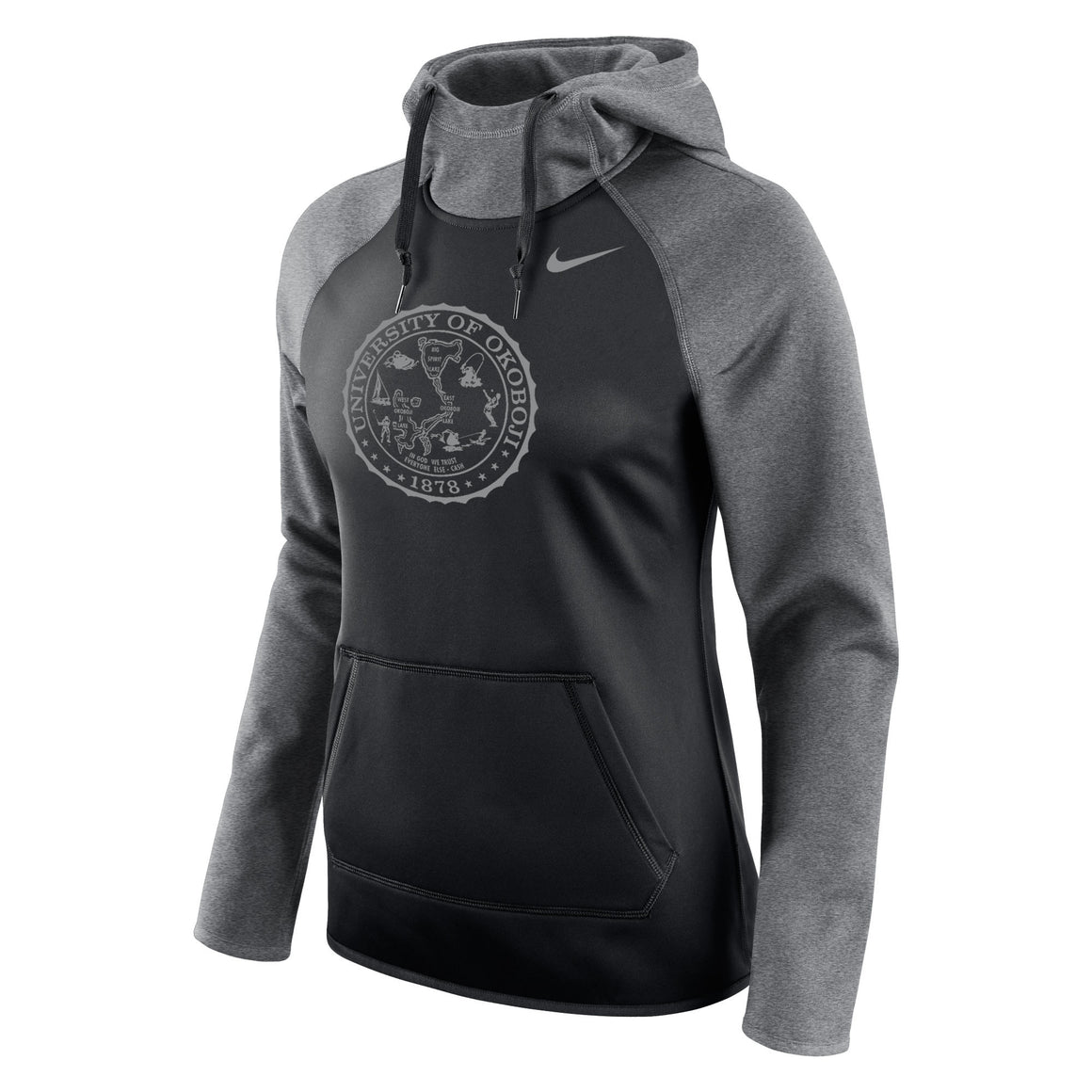 Ladies All Time Pullover Hoody - Okoboji Black