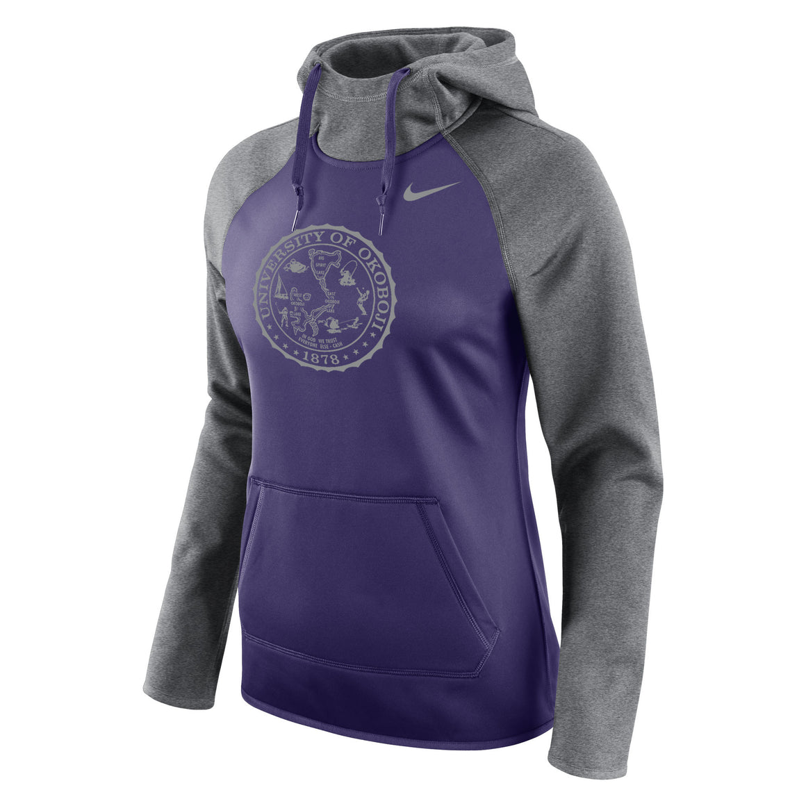 Ladies All Time Pullover Hoody - Okoboji Purple