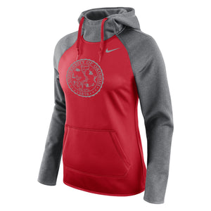 Ladies All Time Pullover Hoody - Okoboji Red