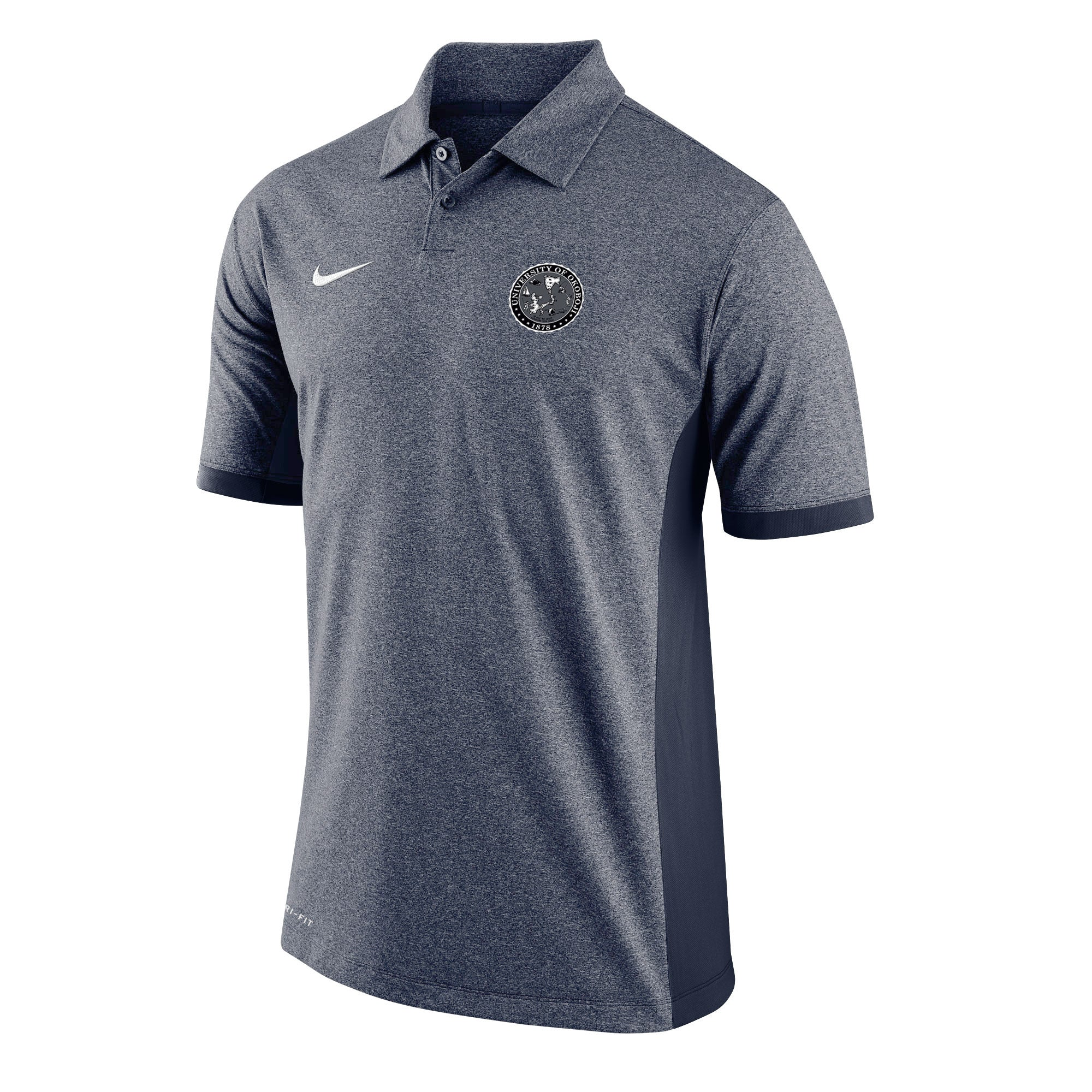 Nike Victory Block Golf Polo - Navy Heather