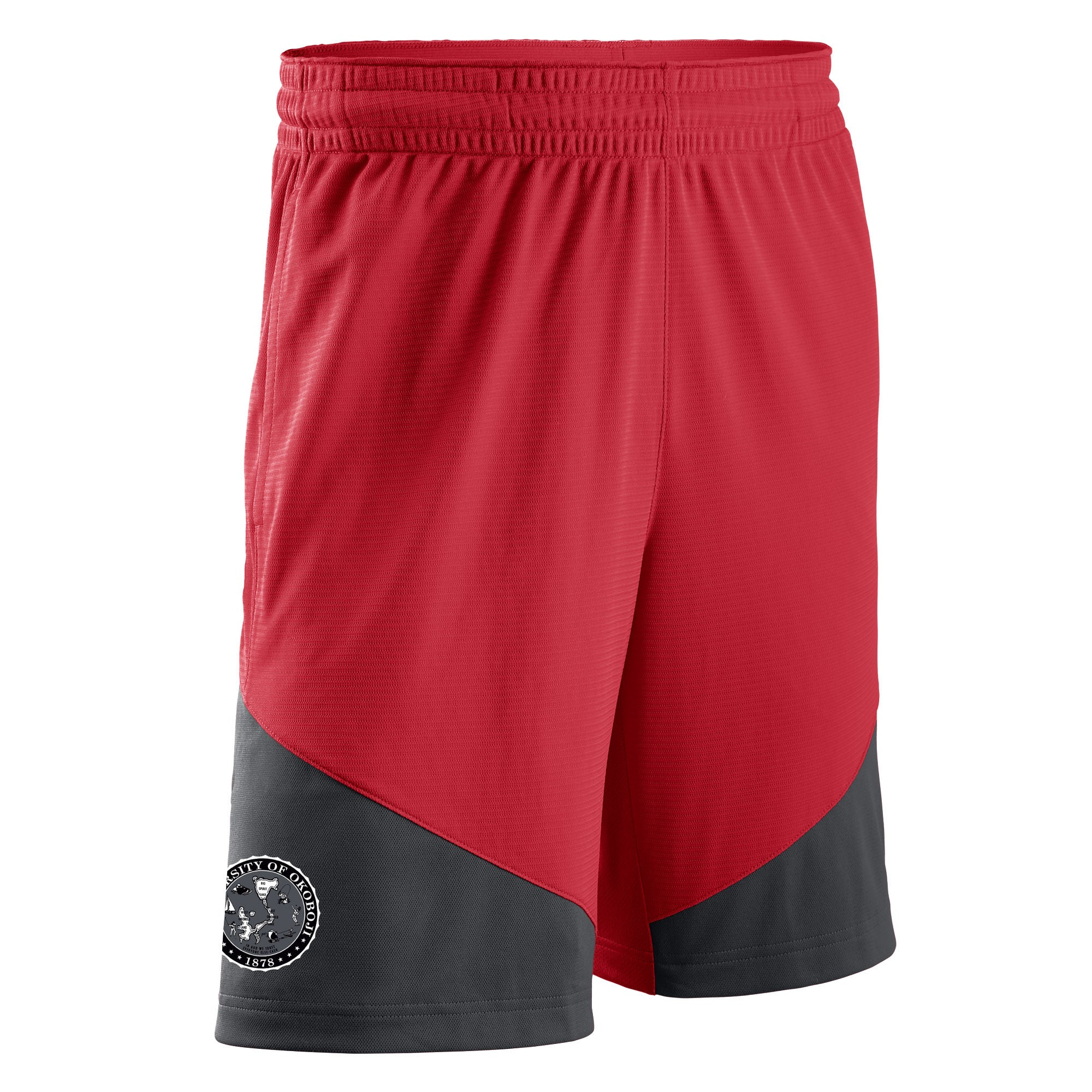 University of Okoboji Classic Nike Shorts - Red