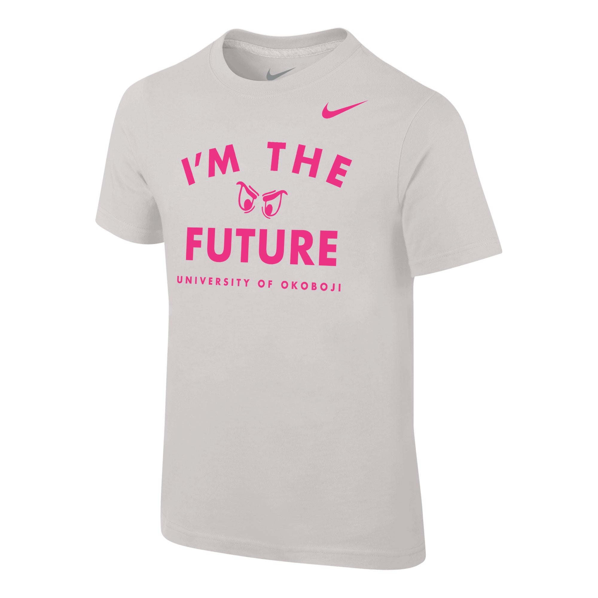 "Youth NIKE ""I'm the Future"" Short Sleeve Tee - White"