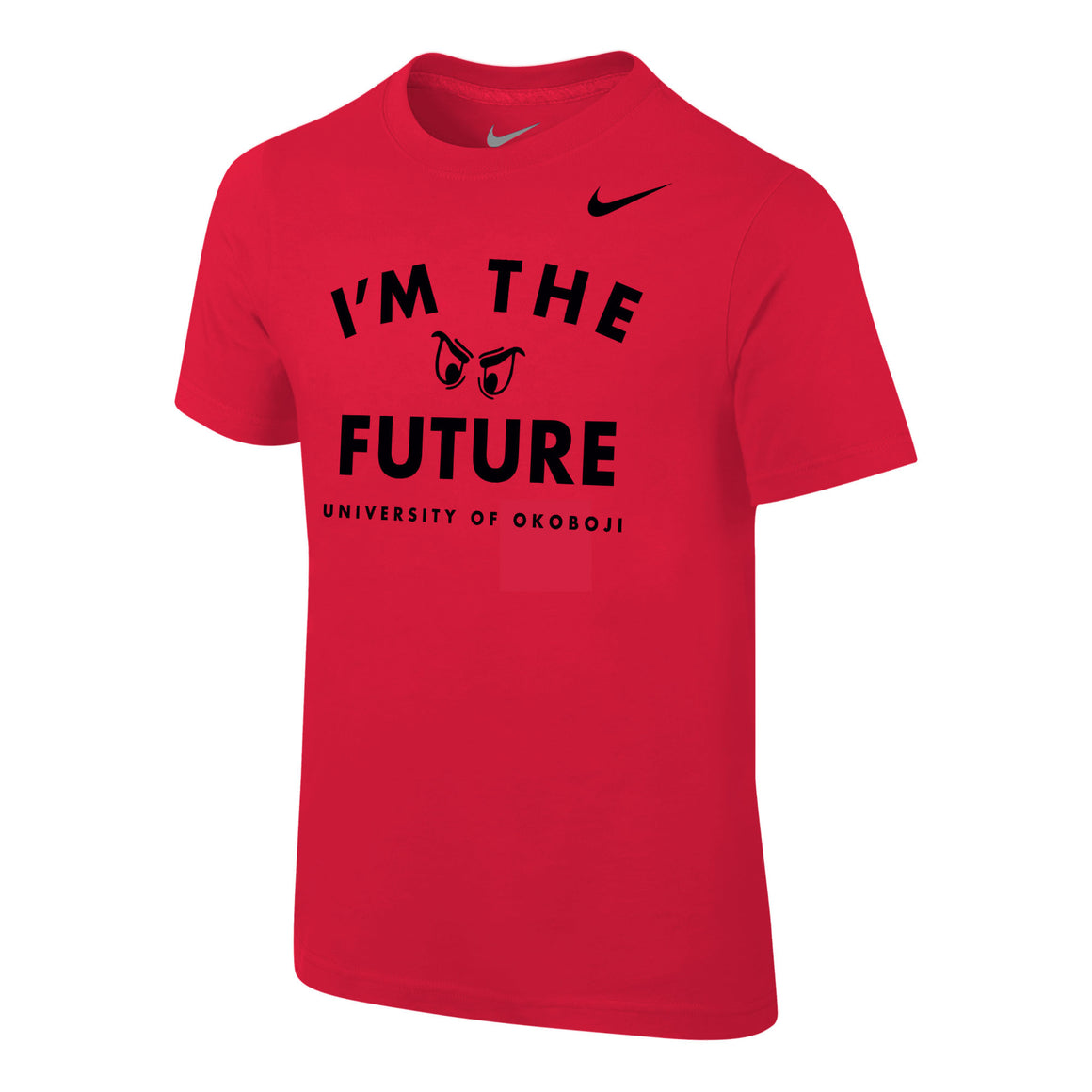 "Youth NIKE ""I'm the Future"" Short Sleeve Tee - Red"