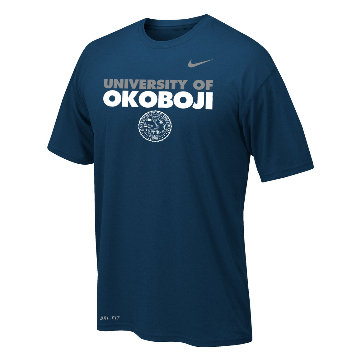 Boy's Dri-FIT Legend 2.0 Short Sleeve Tee - Navy