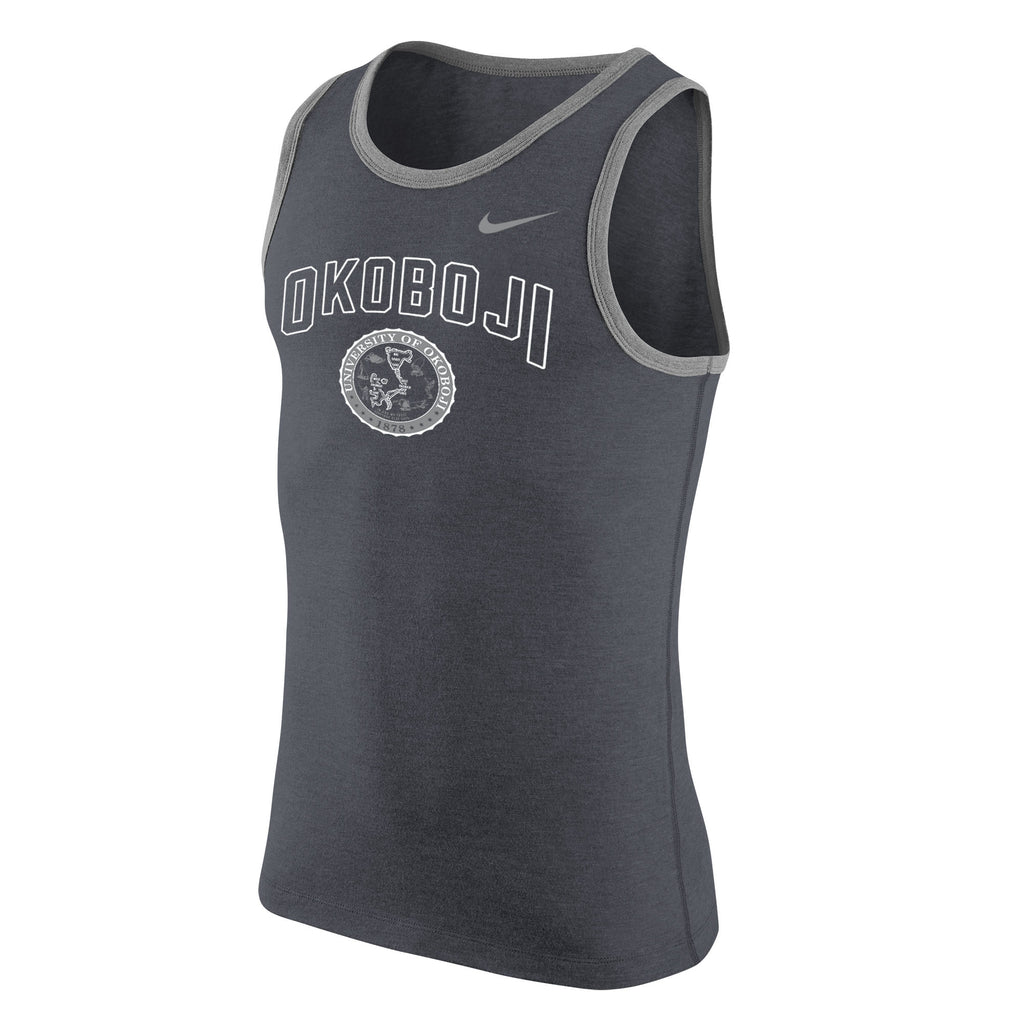 Men's Core Tank by NIKE - Charcoal Grey
