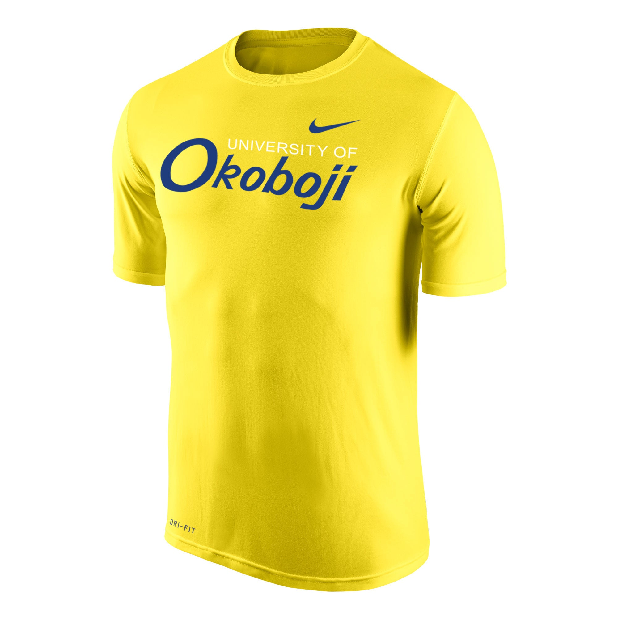 Men's Nike Dri-FIT Legend 2.0 Short Sleeve Tee - Yellow