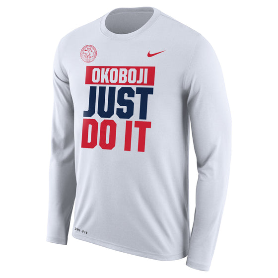 "Men's Nike Dri-FIT Legend 2.0 Long Sleeve Tee ""JUST DO IT"""