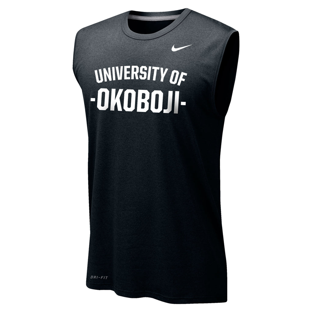 Men's Nike Dri-FIT Legend 2.0 Sleeveless Tee - Black