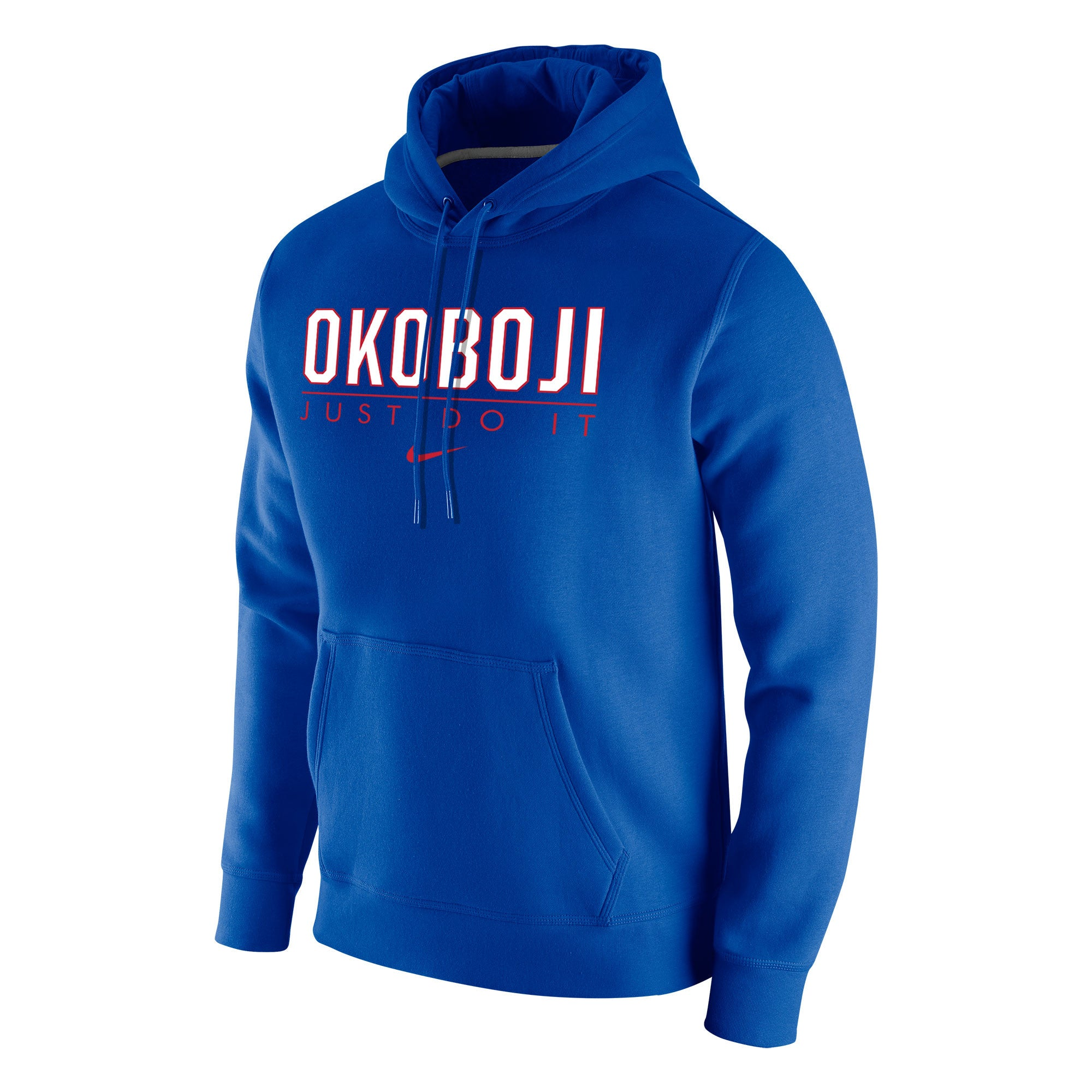Men's Stadium Club Fleece Hoody by Nike - Royal
