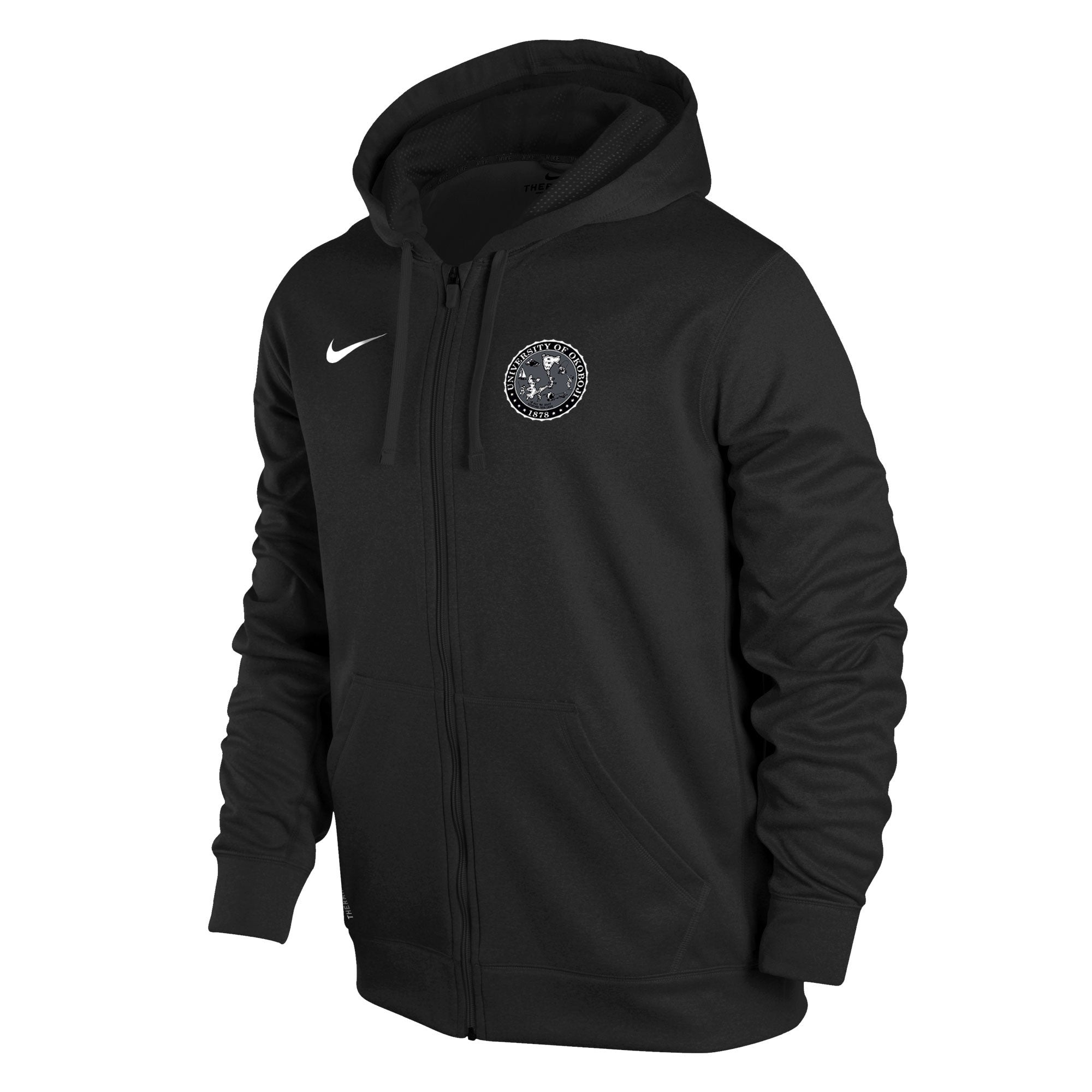 b4cad9f8ecba Men s Nike Therma-FIT KO Full-Zip Hoody - Black - The Three Sons