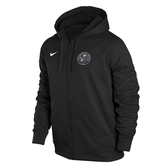 Men's Nike Therma-FIT KO Full-Zip Hoody - Black