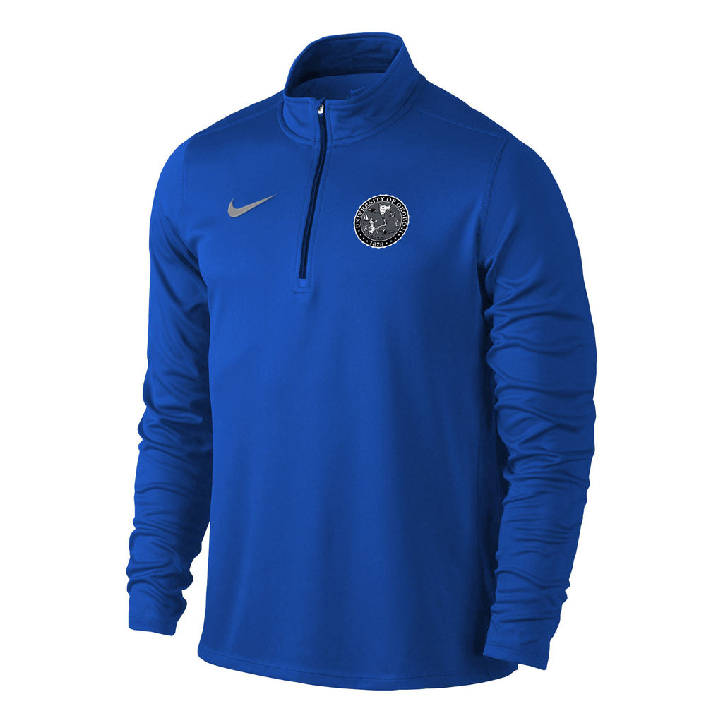 Men's Solid Element 1/4 Zip Top - Royal