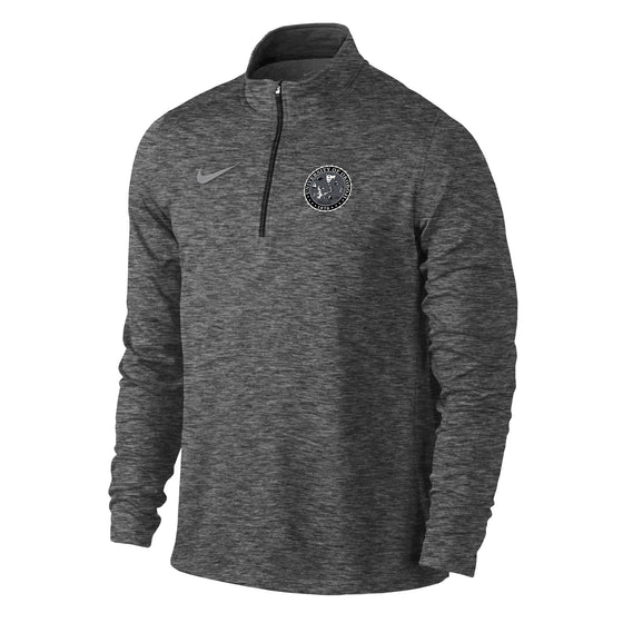 Men's Heather Element 1/4 Zip Top - Dark Heather Grey
