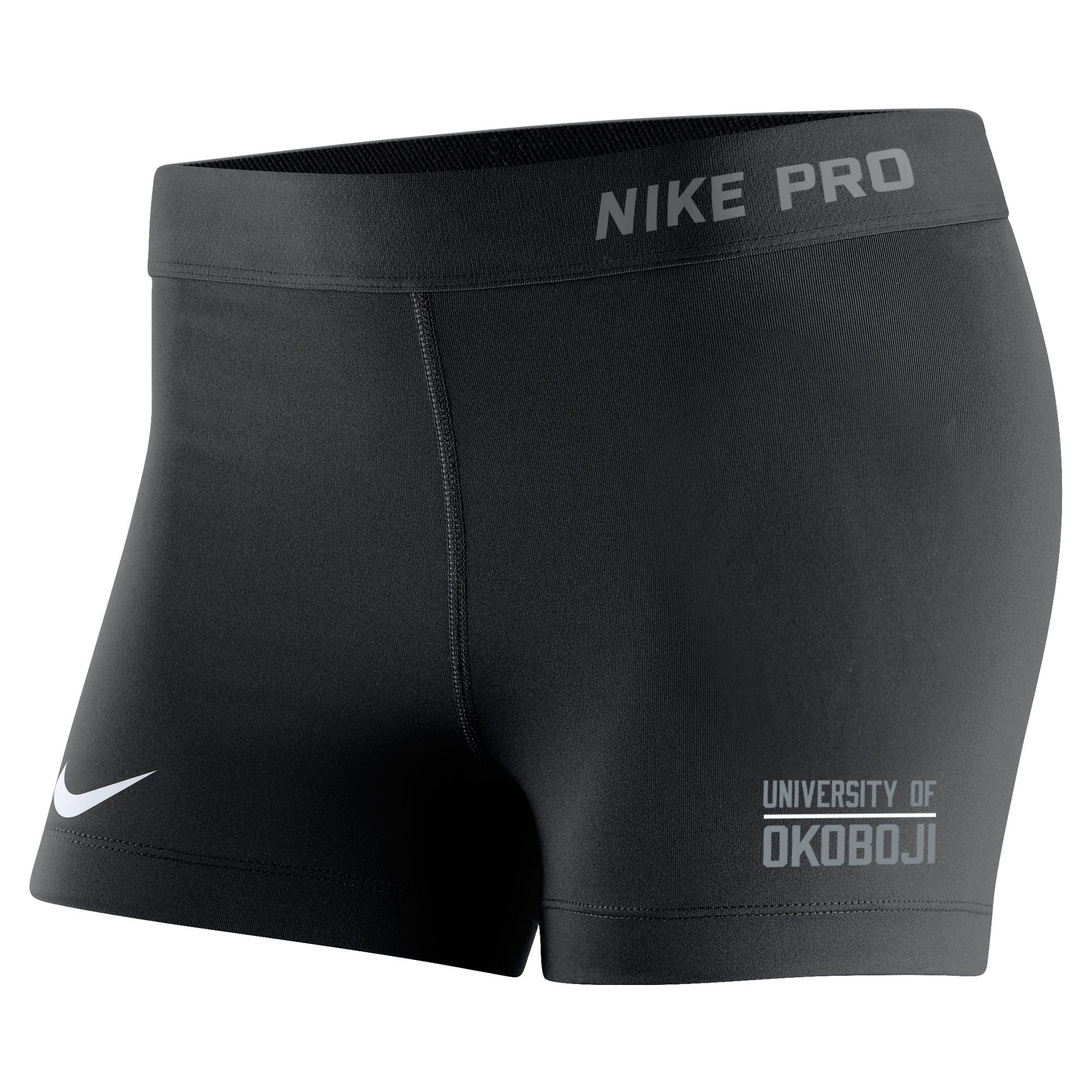 Women s Nike Pro Compression Short - Black - The Three Sons 73d23ec529a8