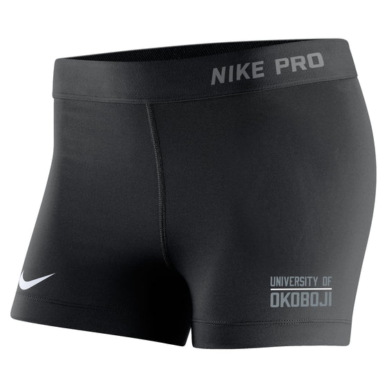 Women's Nike Pro Compression Short - Black