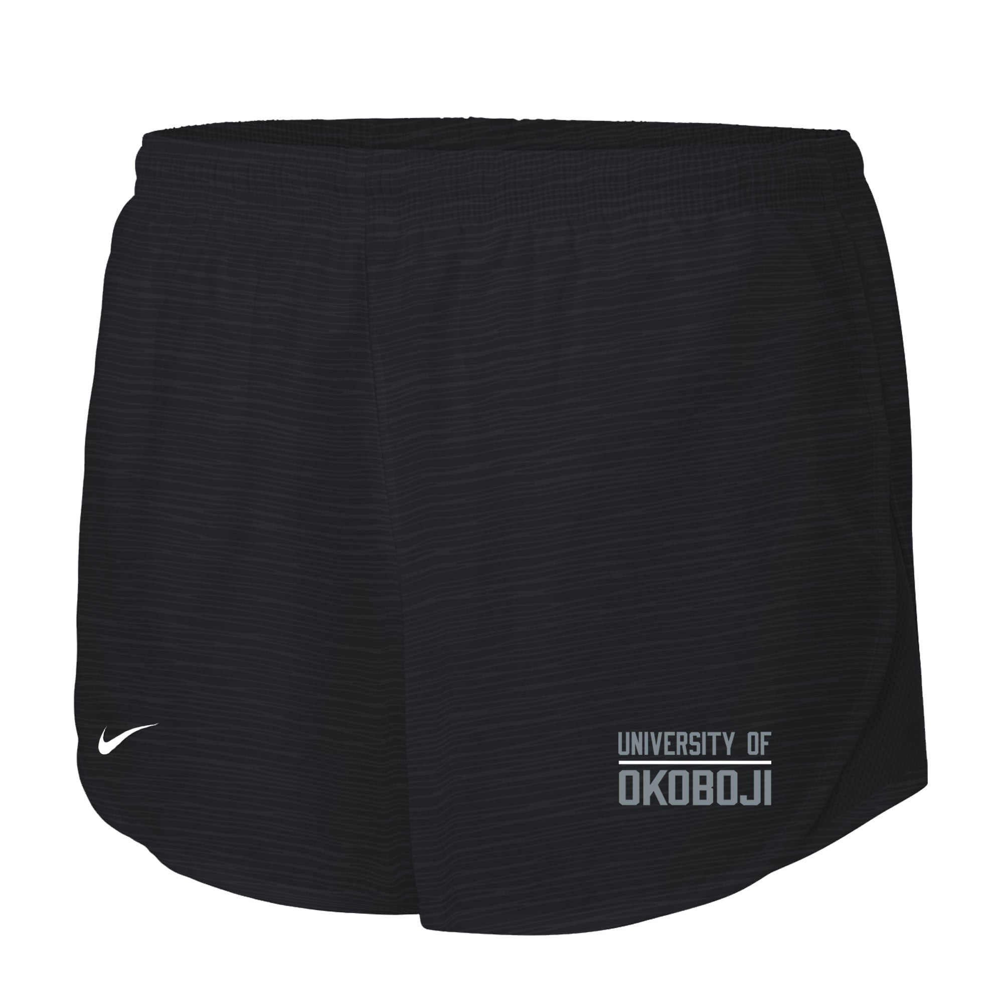 Women's Nike Embossed Mod Tempo Shorts - Black