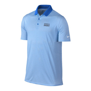 Nike Victory Mini-Stripe Golf Polo - Royal