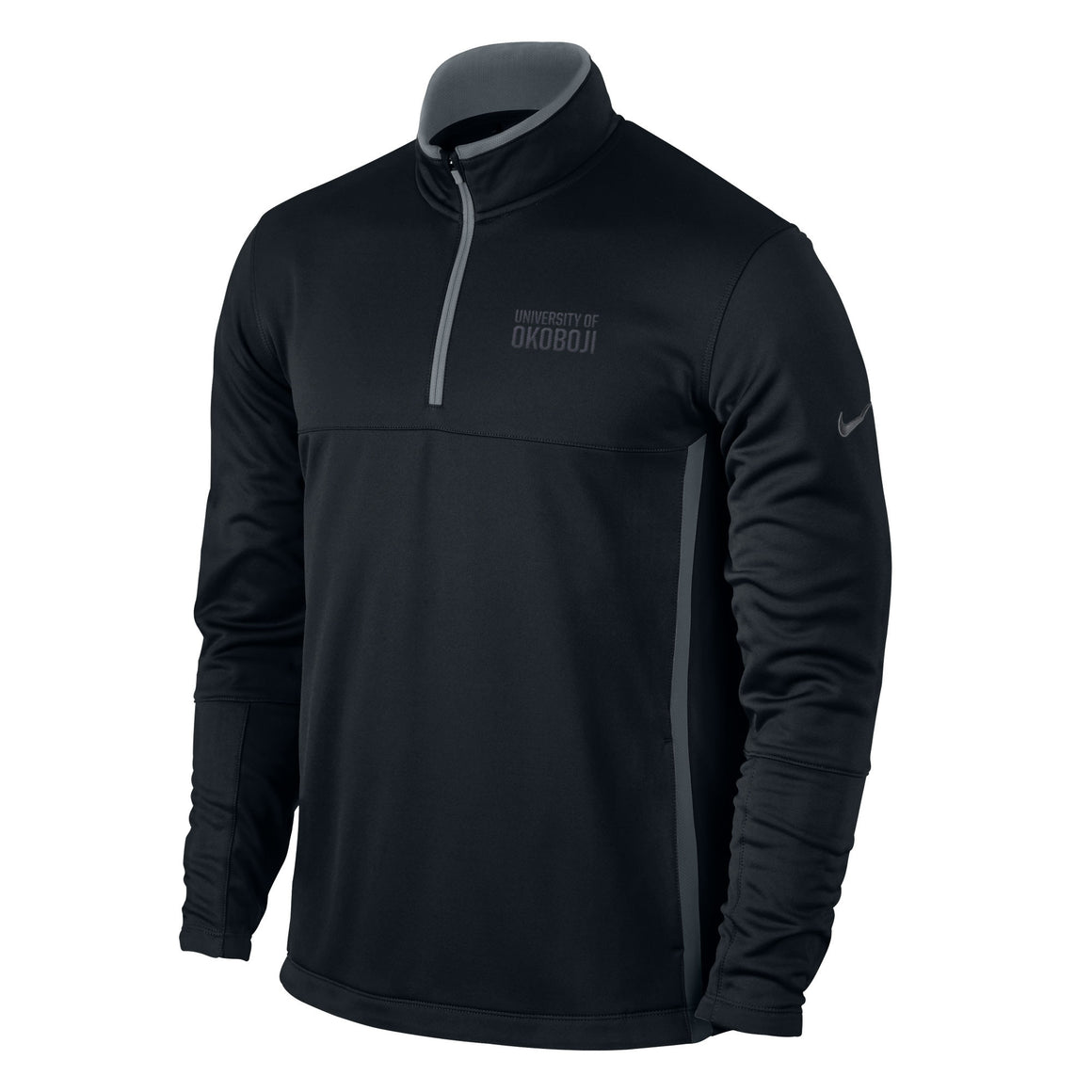 NIKE GOLF Therma-Fit 1/4-Zip Cover-Up - Black