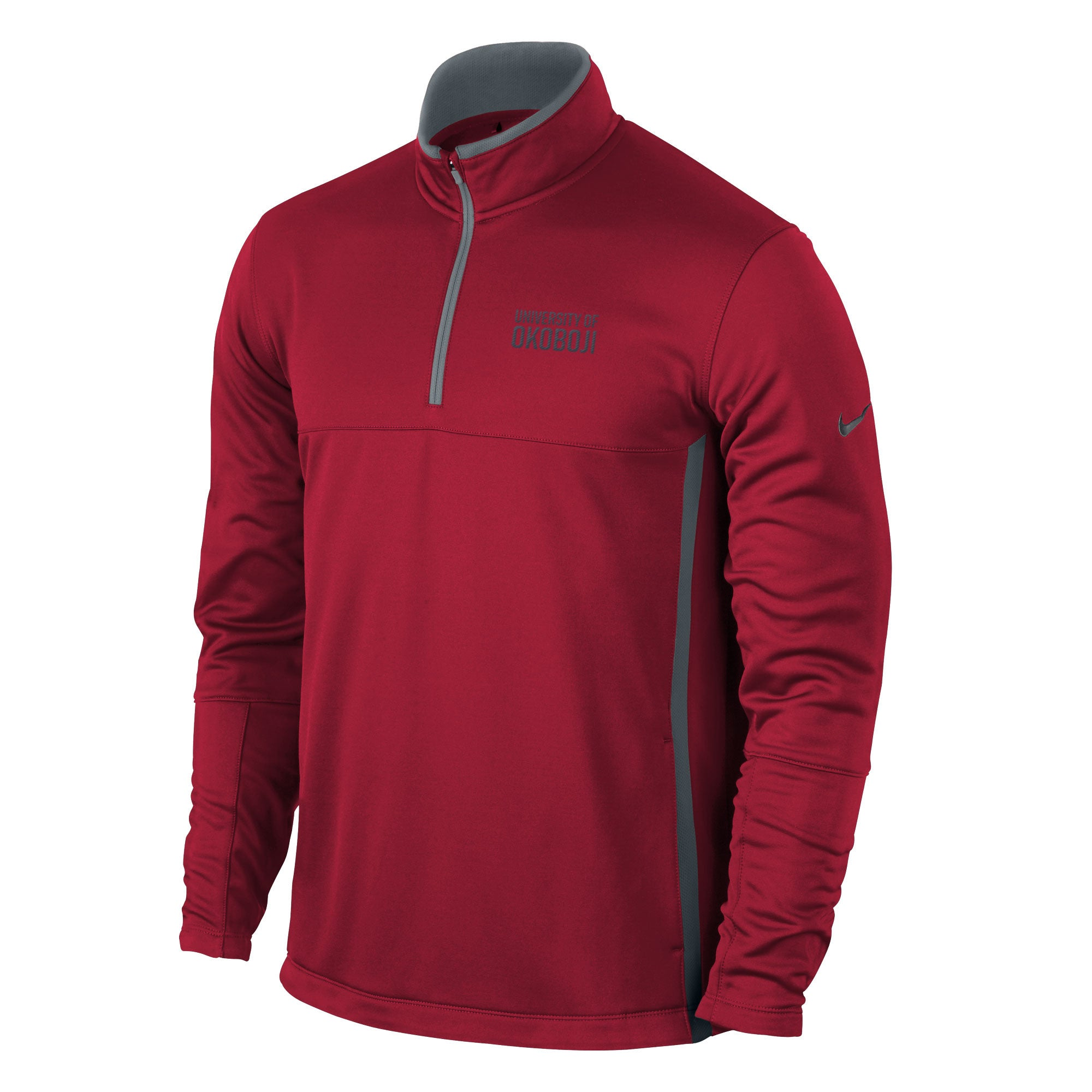 NIKE GOLF Therma-Fit 1/4-Zip Cover-Up - Red