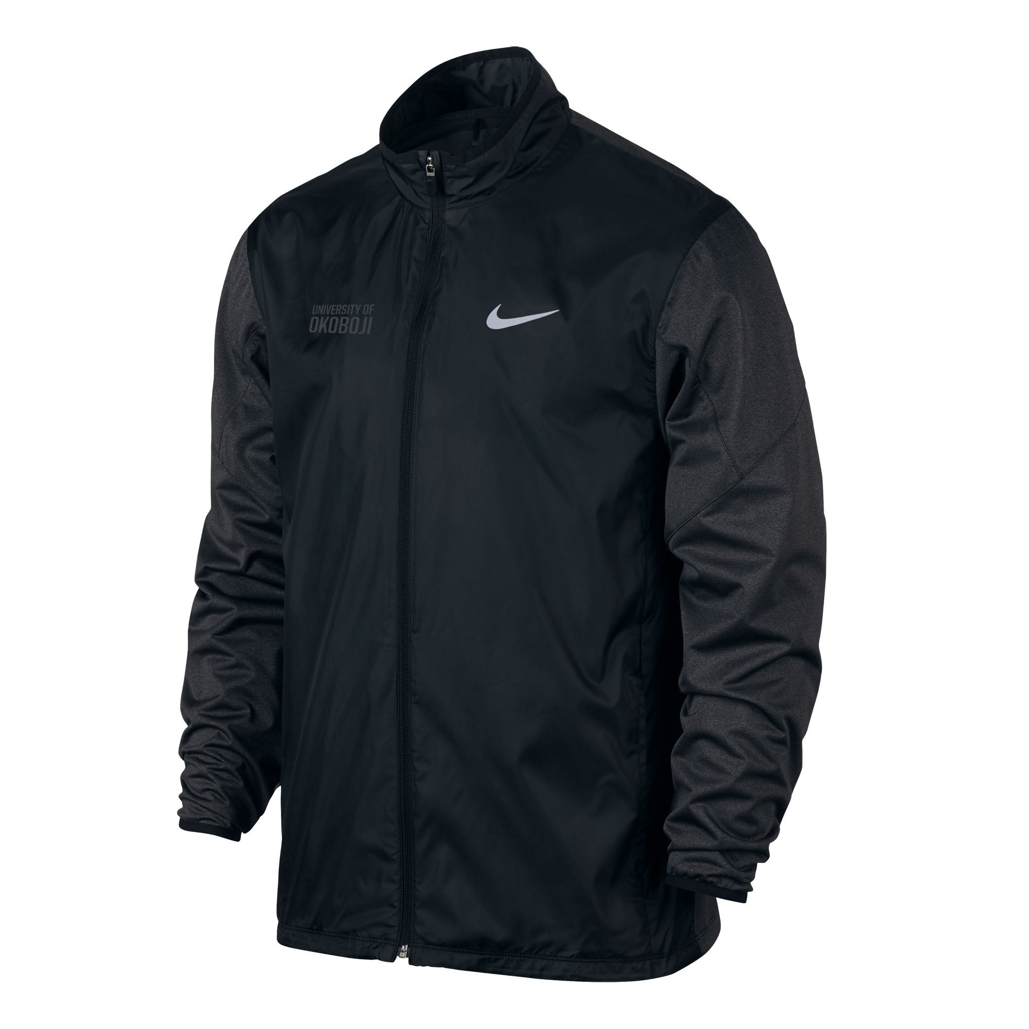 Nike Shield Full-Zip Golf Jacket - Black