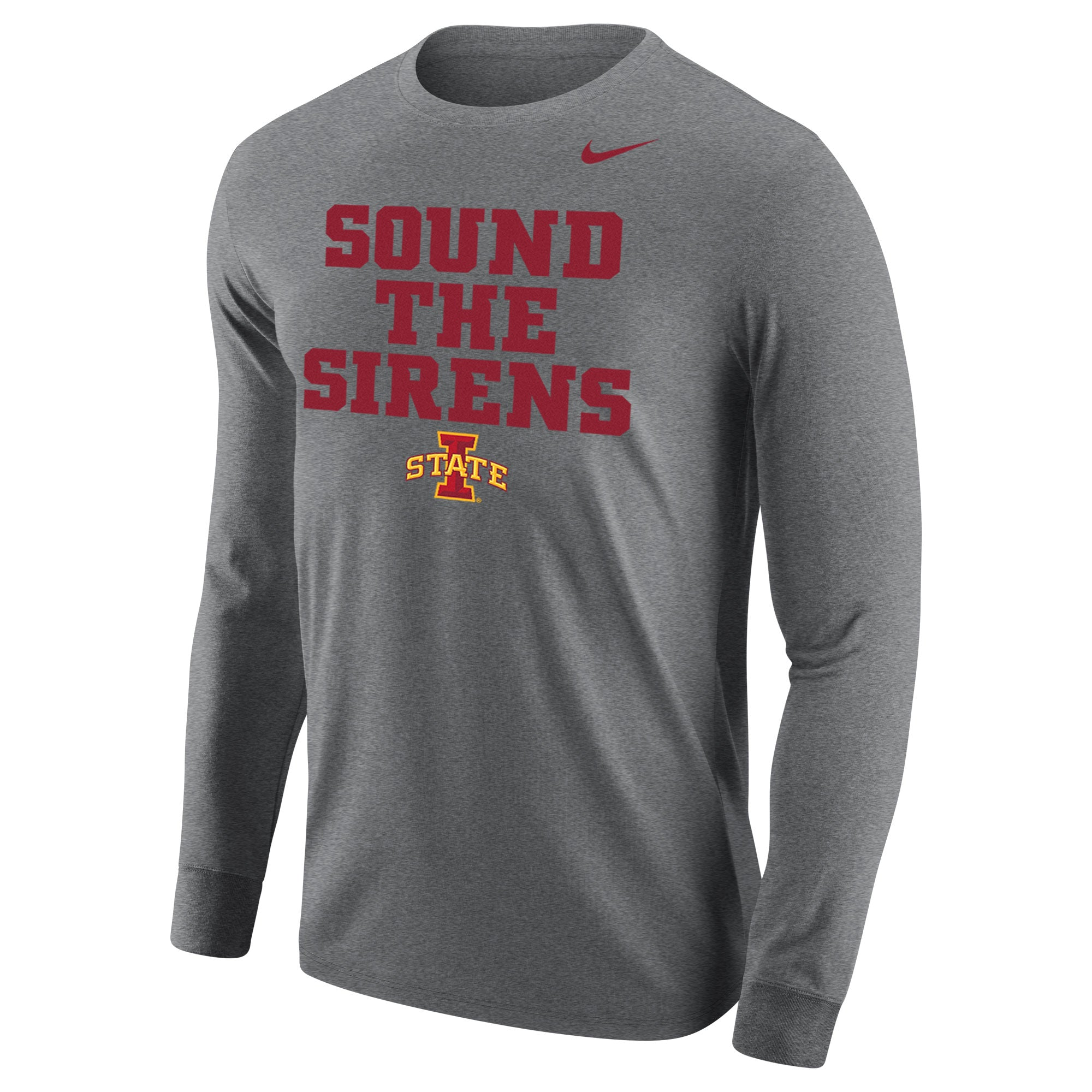 "ISU ""Sound the Sirens"" Core Long Sleeve Tee"