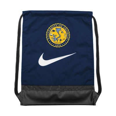 Nike U of O Gymsack-Navy