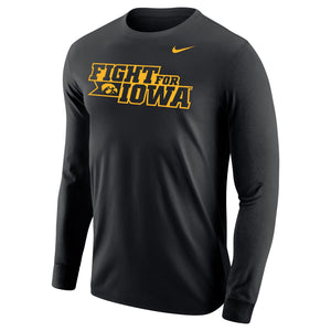 "University of Iowa ""Fight for Iowa"" Core Long Sleeve Tee"