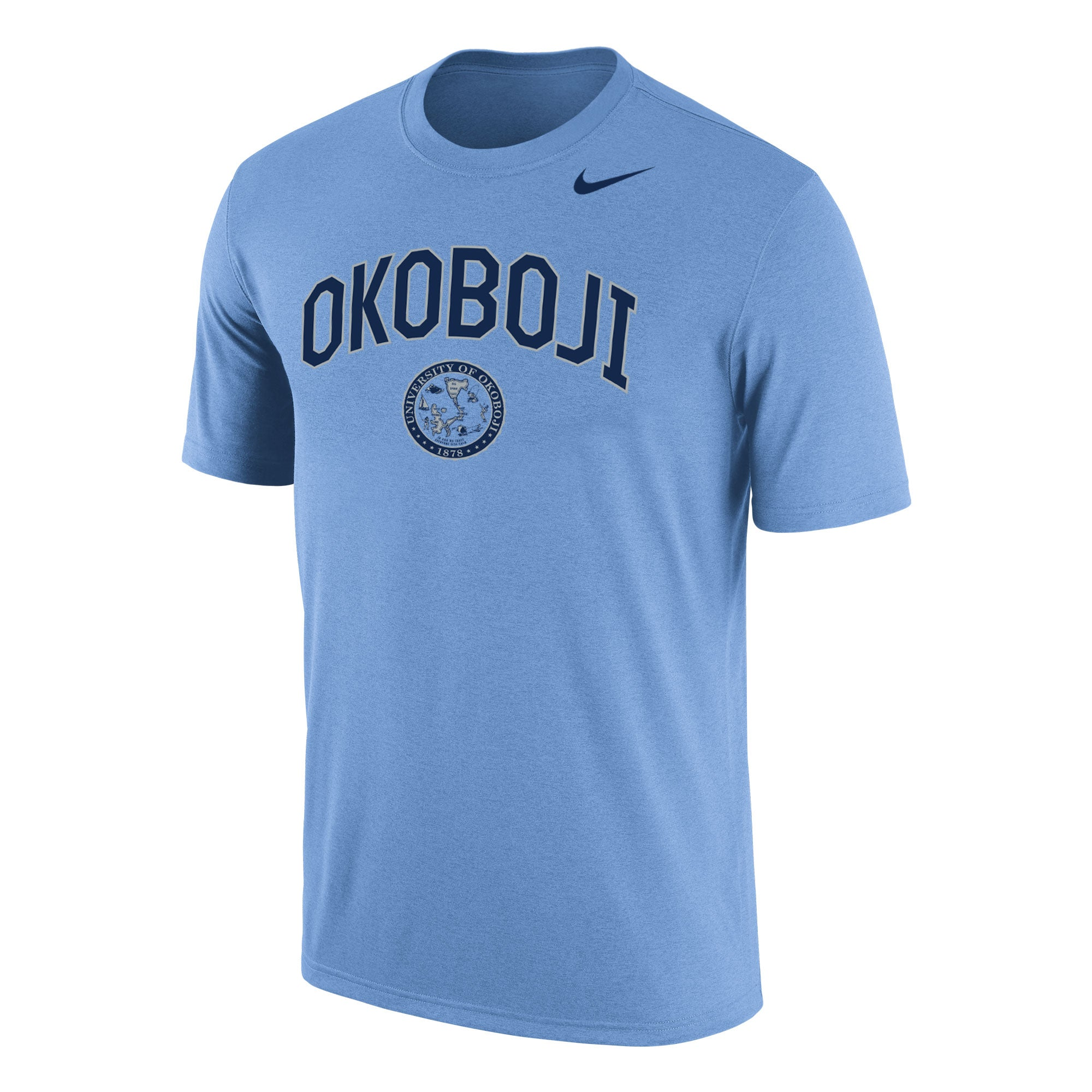 Men's Nike Dri-Fit Cotton - Valor Blue