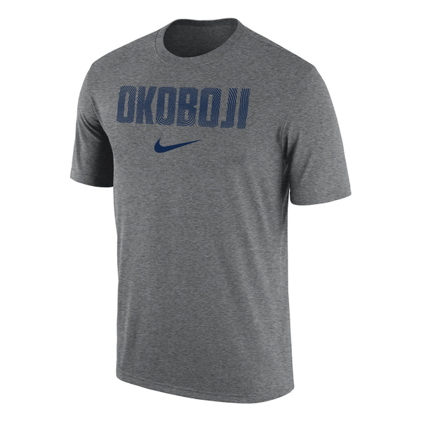 Men's Nike Dri-Fit Cotton - Dark Heather